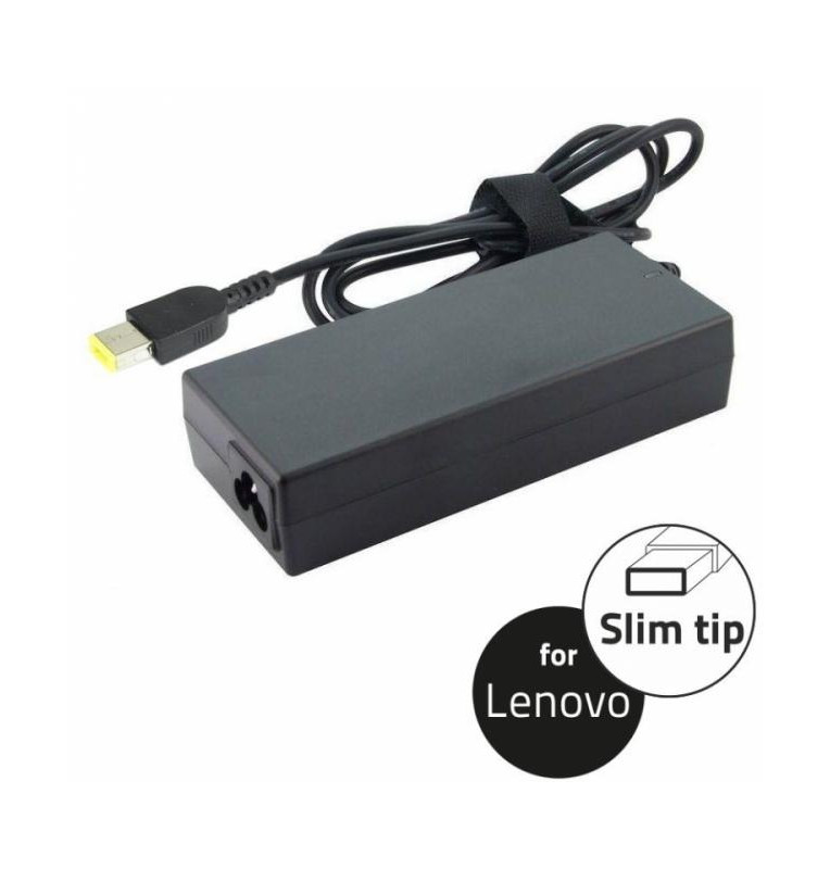 Notebook Adapter for Lenovo 20V 90W 4.5A, slim tip