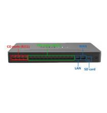 Centralino telefonico IP Yeastar MYPBX S412 con 8 porte FXS e 4 porte configurabili