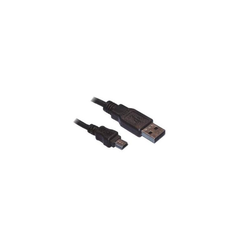 Cavo Usb 2.0 A-B Mini 1.8Mt colore nero