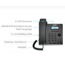 Telefono IP Zycoo H81P - 2