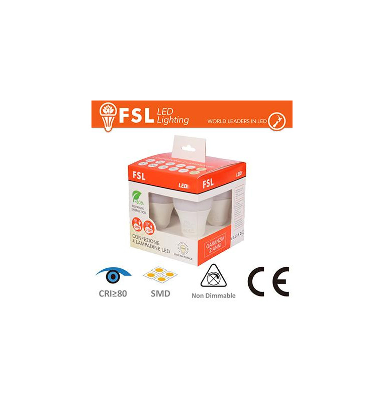 Lampada Goccia: Confezione PROMO 4PACK Mix 2x9w+2x12w 3000K