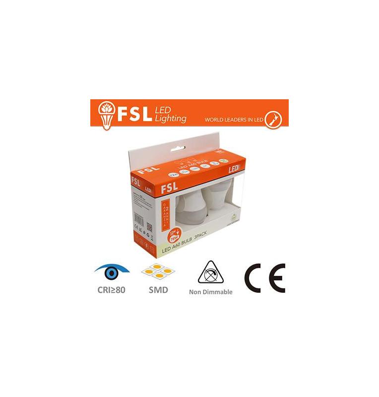 Lampada Goccia: Confezione PROMO 3PACK - 12W 6500K 1130LM