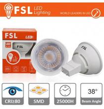GU10 Lampadina LED - 6W 4000K 510LM 38° CRI80