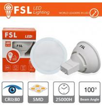 GU10 Lampadina LED - 3W 6500K 270LM 100° CRI80 Antiriflesso