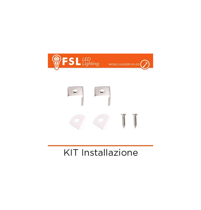KIT Installazione per Profilo Angolare