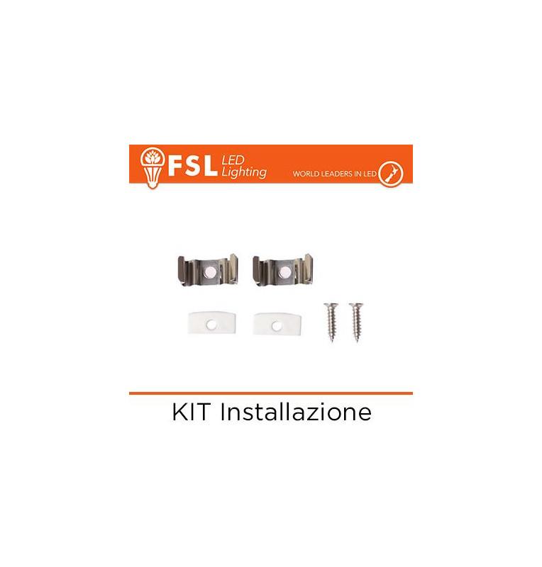 KIT Installazione per Profilo a U