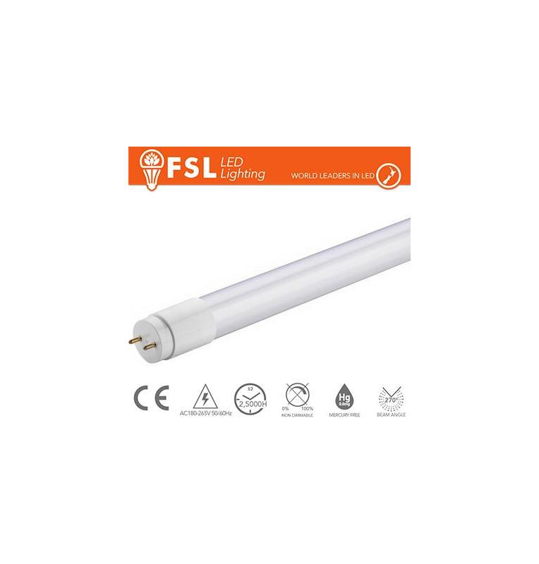 T8 LED Tubo Vetro - 14W 1080LM 3000K G13 Size:28x906mm