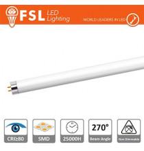 T5 LED Tubo Vetro - 8W 700LM 4000K G5 PF0.5 Size:570x21mm