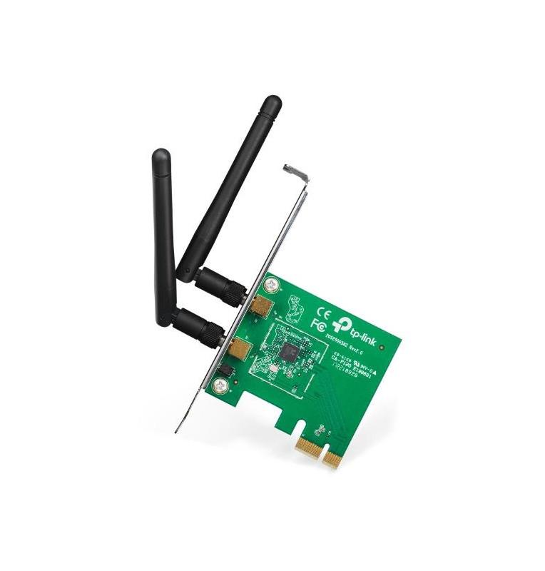 Scheda PCIe Wifi N 300Mbps tecnologia MIMO TP-Link TL-WN881N