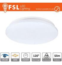 Plafoniera LED 18W 4000K 120° 33x5,5cm CRI80