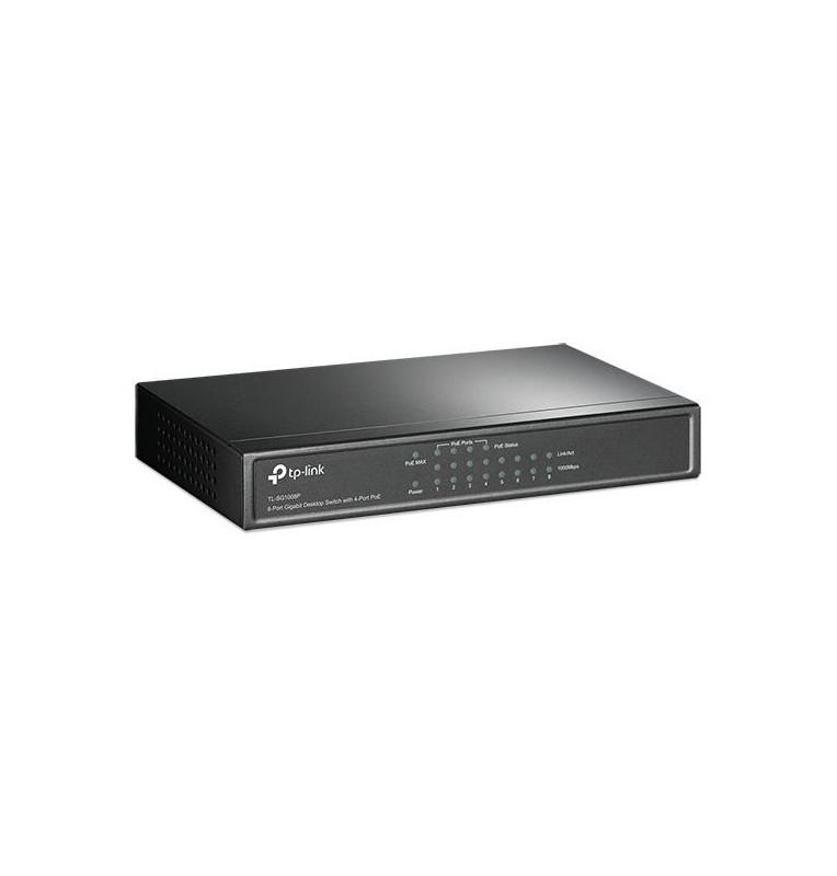 Desktop switch 8 porte gigabit 4 porte PoE 55W TL-SG1008P