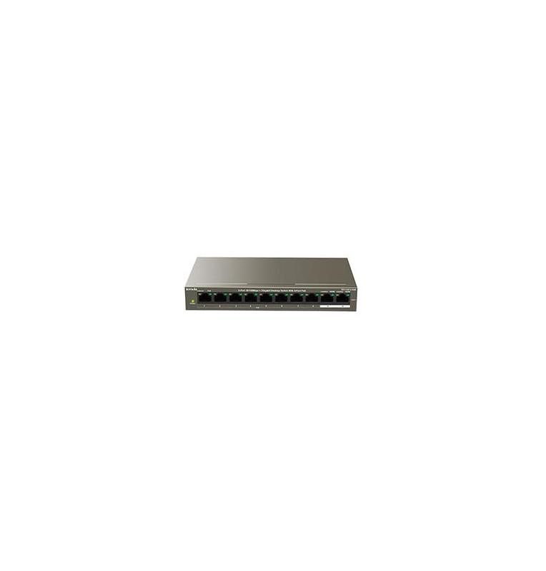 Switch 102W 8 porte PoE10/100Mbps + 2 Gb TEF1110P-8-102W