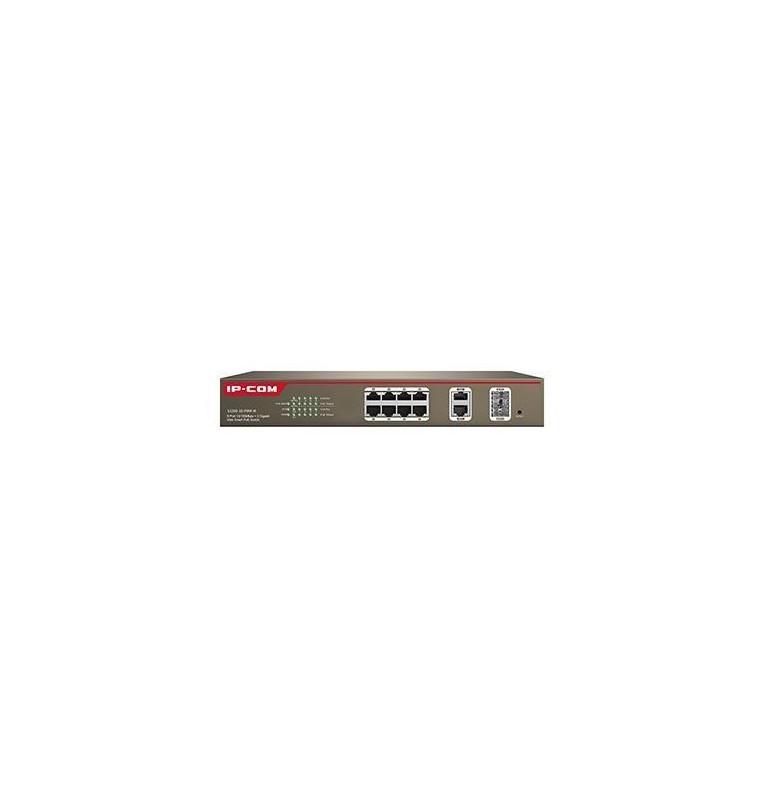 Switch managed 8 porte PoE 100M+2 porte Gigabit TP/SFP Combo