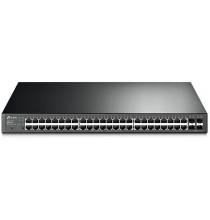 Switch Smart 48-Port Gb PoE/PoE+ 384W 4 porte SFP