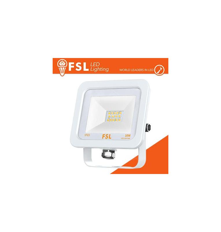 Proiettore per esterni Bianco 10W - IP65 115° 4000K