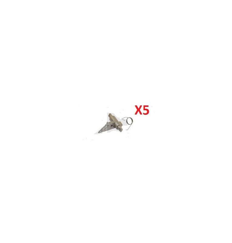 5XUpper Picker Finger W/Spring Phaser 5500,5550 DC 450i 550i