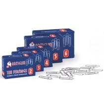 Fermagli in acciaio conf. 10 scatole da 100pz - Misura n.2