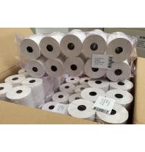 10x Rotolo per CASSA Omologato carta termica mm 57 x 30 mtl