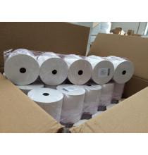 5x Rotolo per CASSA Omologato carta termica mm 80 x 80 mtl