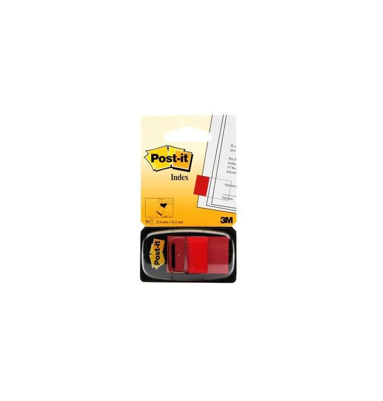 Post-it® Index Medium Rosso - dispenser da 50 segnapagina