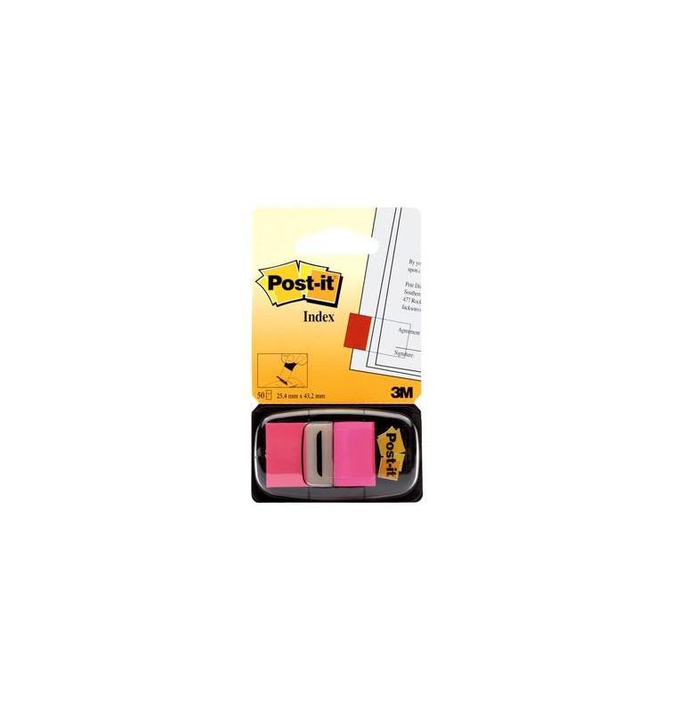 Post-it® Index Medium Rosa - dispenser da 50 segnapagina
