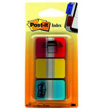 Post-it® Index Strong 686-RYB Box colori classi assortiti