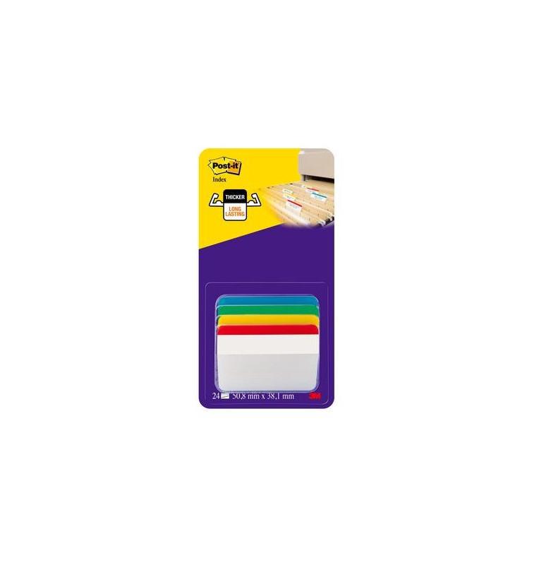 Post-it® Index Strong PER ARCHIVIO 4 colori classici assort