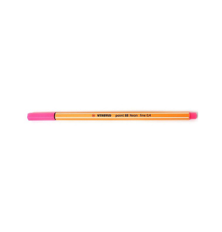STABILO point 88 - fineliner 0,4 mm ROSA 10pz