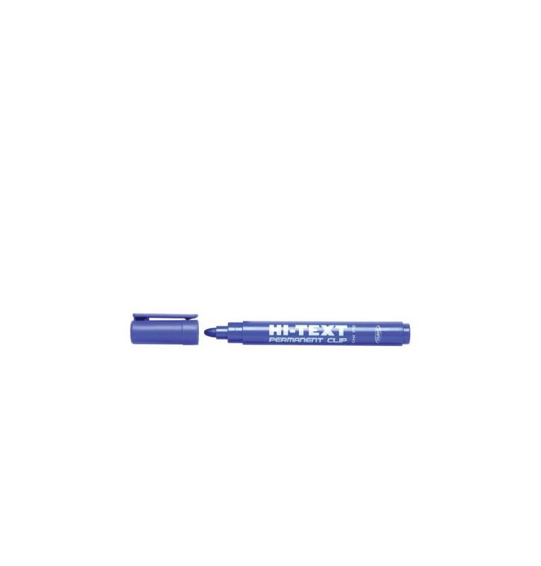Indelebile punta tonda 4mm - 12 pezzi - BLU