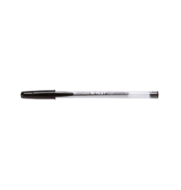 HI-TEXT 661 penna sfera punta media 1 mm Colore NERO 50 pz