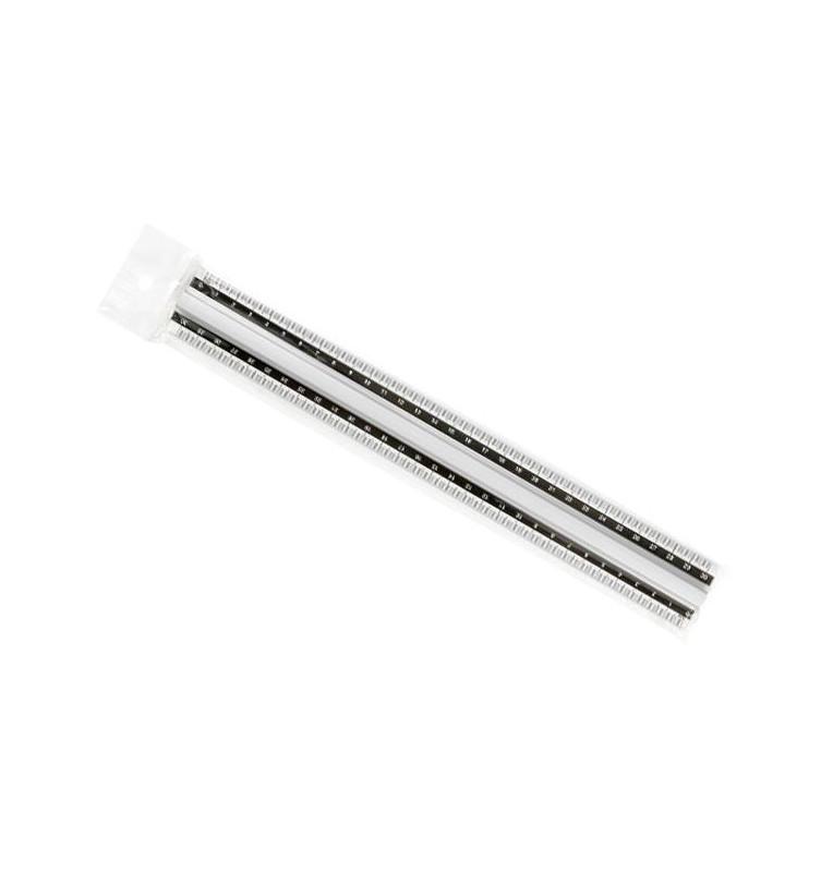 Doppio-Decimetro ARTIGLIO in plastica cm. 30 con impugnatura