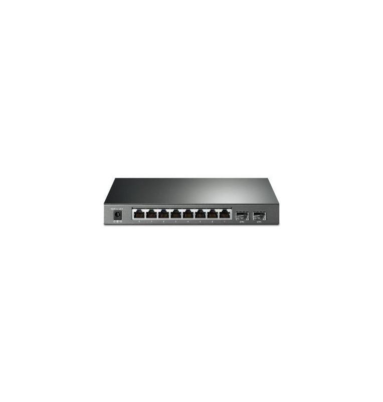 Smart Switch JetStream Gigabit 8 Porte PoE+ con 2 Slot SFP