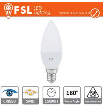 Lampada Oliva - 7,5W 3000K E14