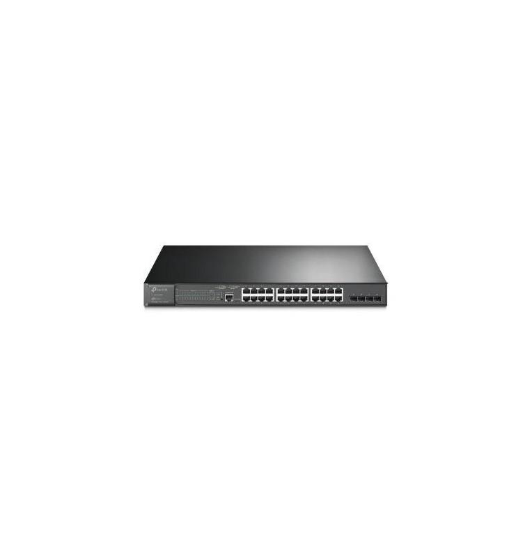 Switch 24 Porte Gigabit PoE+ e 4 Slot SFP Jetstream by Omada