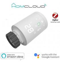 Valvola termostatica per radiatori Smart digitale zigbee