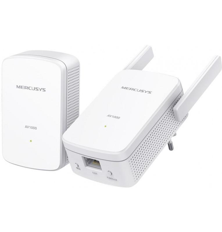 Powerline Kit Homeplug AV2 fino a 1000Mbps e Wi-Fi 300Mbps