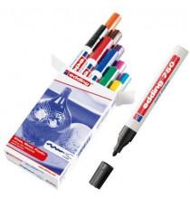 Marcatore a vernice EDDING 750 - Col.Assortiti - conf. 10 pz