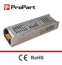 Alimentatore Scatolato Slim IP20 24V 150W 6.25A 188*45*35mm
