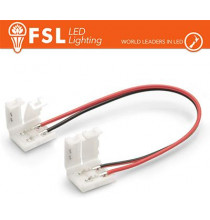 Connettore rapido 2END per strip 10mm LED monocolore