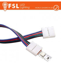 Connettore rapido 2END per strip 10mm LED RGB