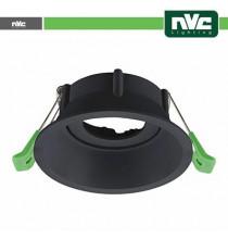 Ghiera orientabile anti abbagliamento foro 90mm NERO