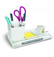 Desk organizer MYDESK- 3 pezzi - Bianco