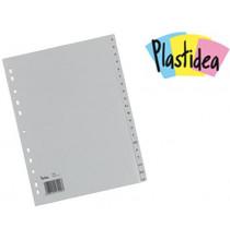 DIVISORI in polipropilene PLASTIDEA alfabetici A-Z formatoA4