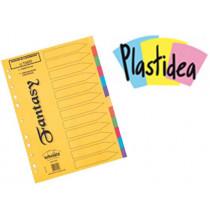 DIVISORI in cartoncino PLASTIDEA 12 TASTI - formato A4