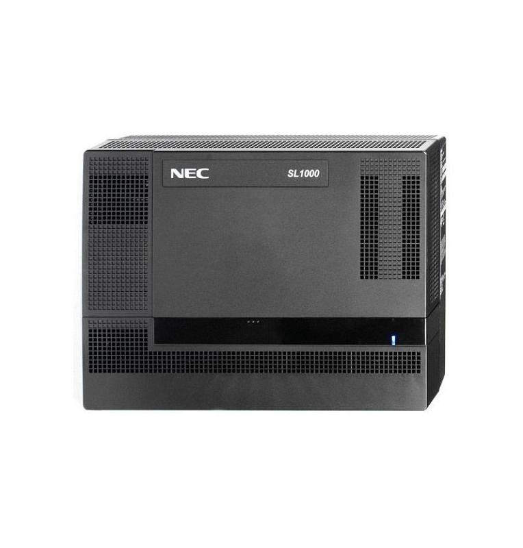 Centralino telefonico NEC SL1000 con 4 linee urbane e 8 interni ibridi